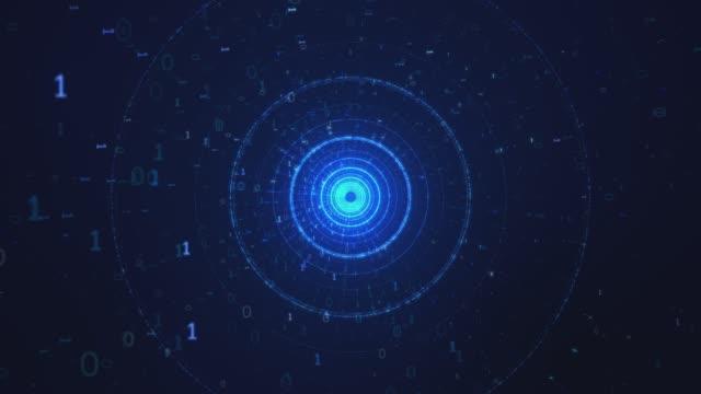バイナリコード - ウイルス対策ソフト点の映像素材/bロール