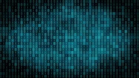 vidéos et rushes de affichage de numéros ordinateur binaire - nombre