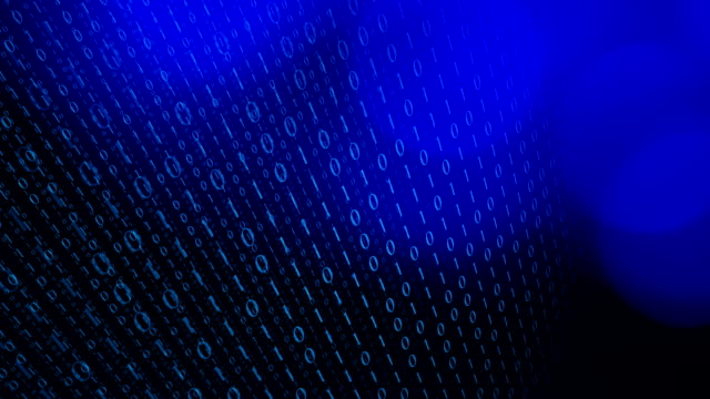Binary data motion graphic background Computer binary data, technology motion background antivirus software stock videos & royalty-free footage