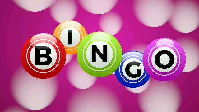 bingo lotteri, bakgrund, turbollar och nummer av lotto. 2d-animering. sömlösa bilder 4k - bingo bildbanksvideor och videomaterial från bakom kulisserna
