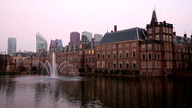 HD: Binnenhof, House of Parliament, Hague Netherlands video
