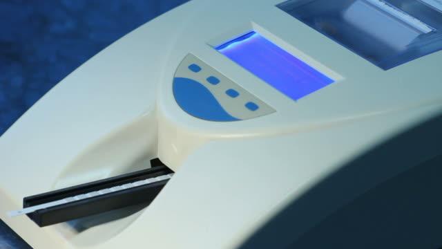 Biochemical test machine works [I]