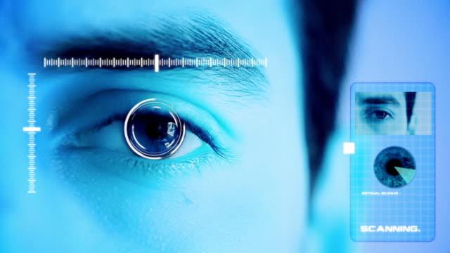 Biometric Security Eye Scanner Rejected video