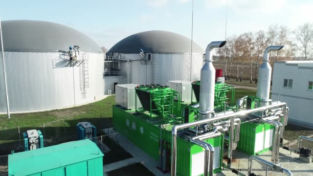 Bio-plant for processing shtkhodov from fields into electricity