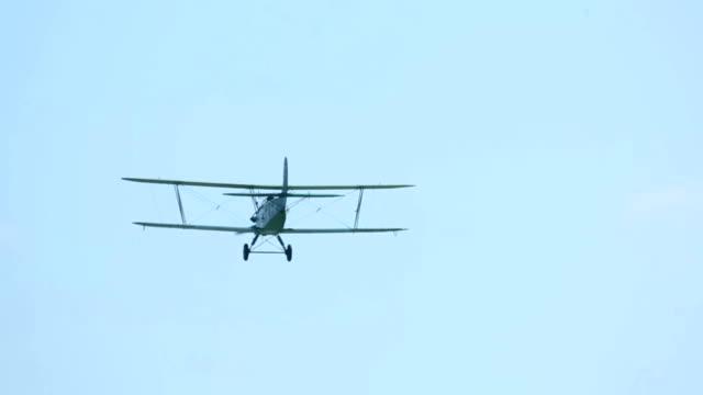 Biplane video