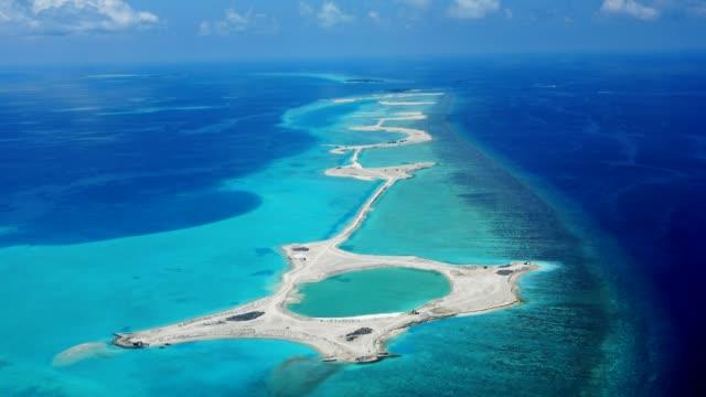 fågel ögon syn på maldiverna - indiska oceanen bildbanksvideor och videomaterial från bakom kulisserna