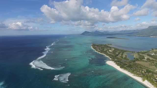 Birds Eye View of Mauritius Birds Eye View of Mauritius indian ocean stock videos & royalty-free footage