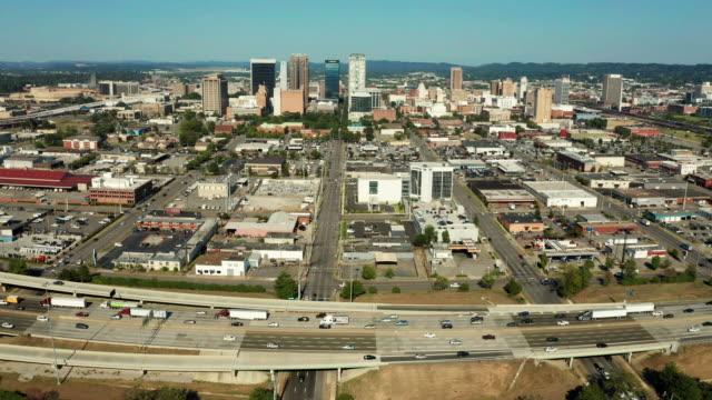 Birmingham Alabama Downtown City Skyline Urban Landscape
