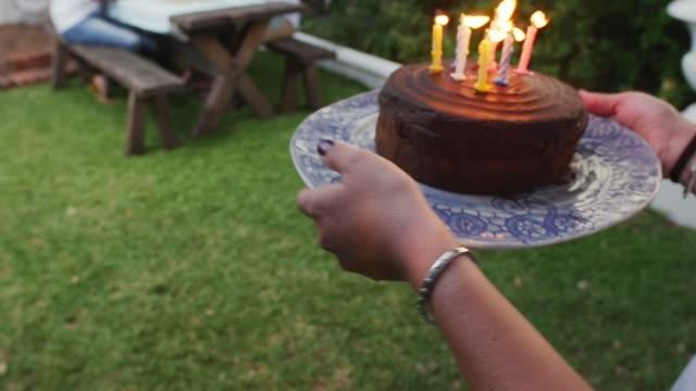 birthday cake surprise video