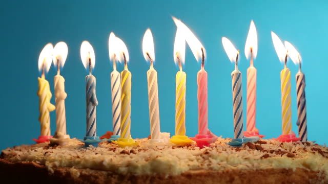 Birthday Cake  candle stock videos & royalty-free footage
