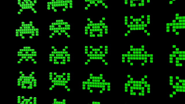 8 Bit Alien Invaders video