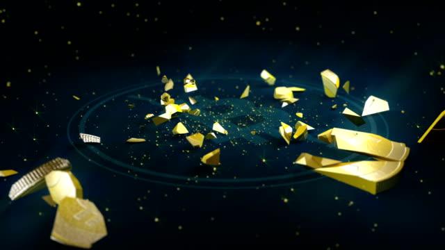 HD: Bitcoin crash video