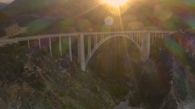 Bixby Bridge Big Sur California Approach video