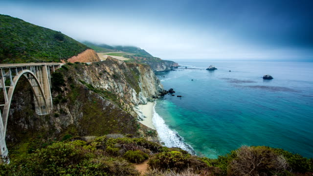 Bixby Bridge California video