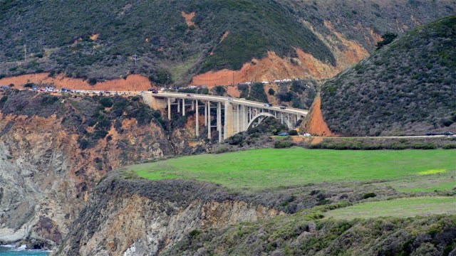 Bixby Bridge on California's Big Sur video
