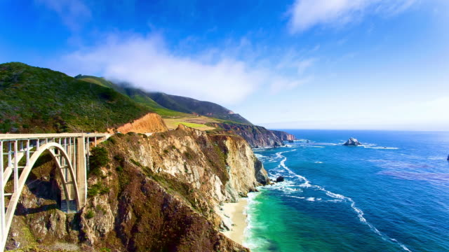 Bixby Creek Bridge video