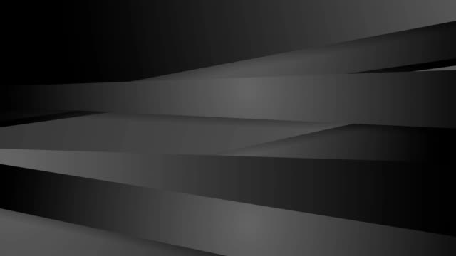 Black abstract corporate striped video animation video
