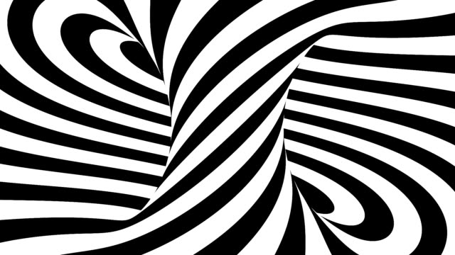 Black and white abstract spiral background animation, 3D rendering Black and white abstract spiral background animation, 3D rendering wound stock videos & royalty-free footage
