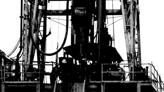 Black and White Fracking video