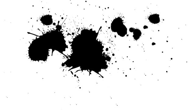 Black and White Splatter video