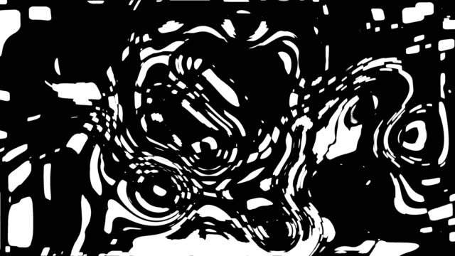 Black and white stripes. Computer generated abstract background, 3D render Black and white stripes. Computer generated abstract background, 3D rendering backdrop illusion stock videos & royalty-free footage
