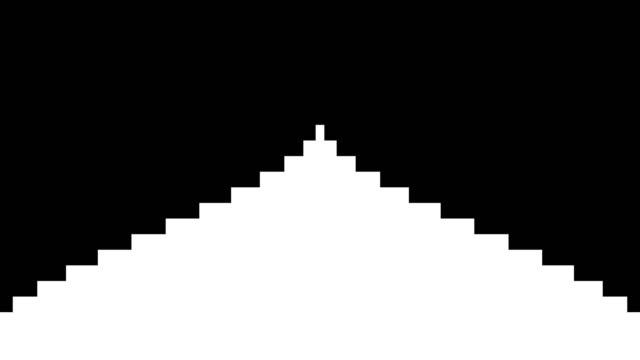 黒と白の遷移 - 玉虫色点の映像素材/bロール