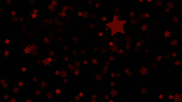 black background with moving stars - изумруд стоковые видео и кадры b-roll