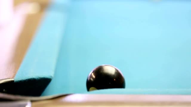 Black ball corner pocket video
