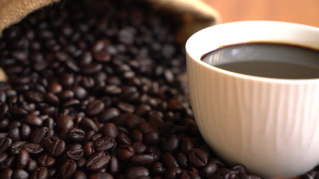 caffè nero - full hd format video stock e b–roll