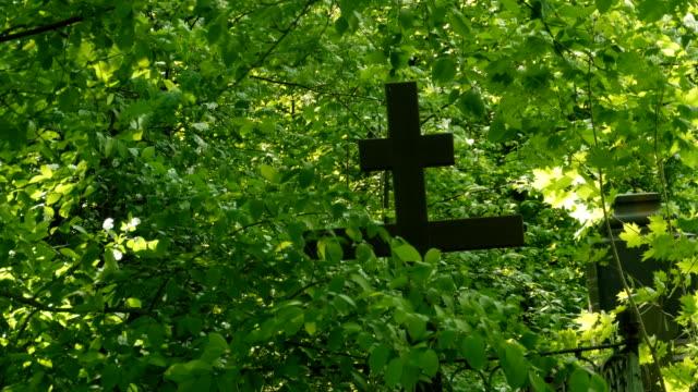 black cross old cemetery