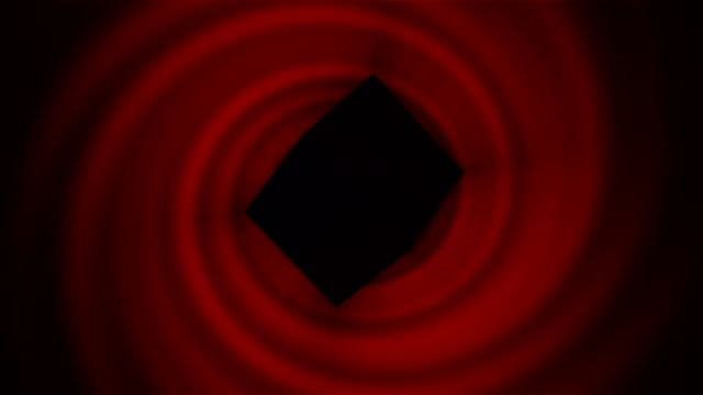 Black cube of saturn, Saturn Worship. Black cube rotates on red background. Seamless loop. 4k resolution. philosophy stock videos & royalty-free footage