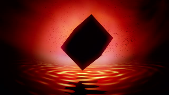 Black cube of saturn, Saturn Worship. video