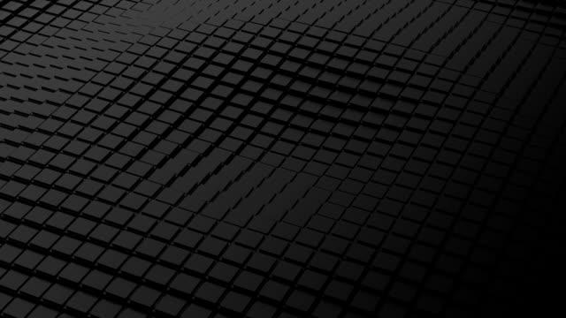 Black cubes - moving ripple.