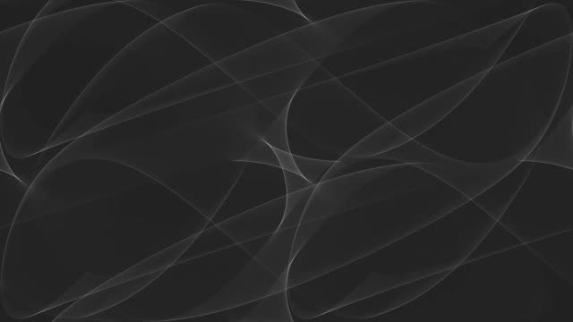 Black Curves Abstraction video