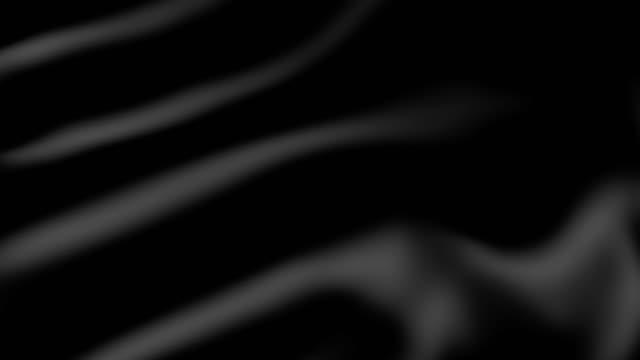 Black fabric movement. video