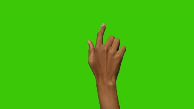 svart kvinnlig pekskärm gester - gestikulera bildbanksvideor och videomaterial från bakom kulisserna