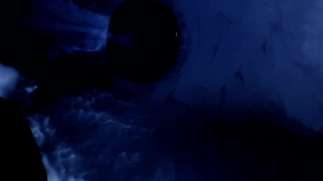 Black Flying Saucer nears an alien world video