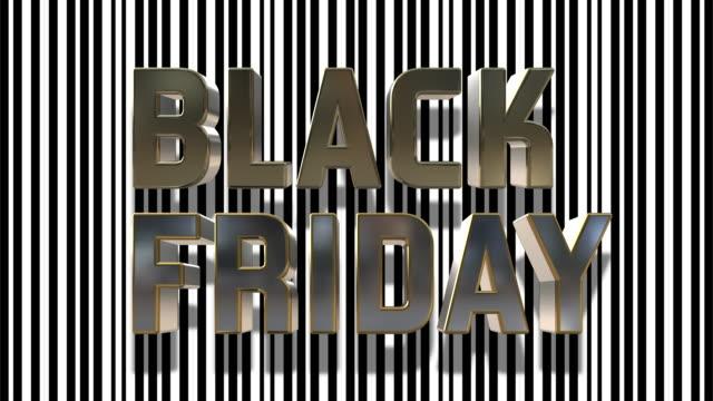 черная пятница и cyber понедельник 3d цикл анимации - cyber monday стоковые видео и кадры b-roll