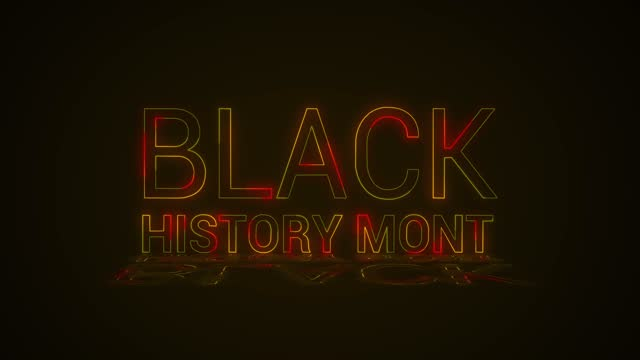 siyah tarih intro - black history month stok videoları ve detay görüntü çekimi