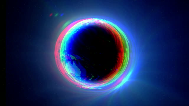 Black Hole earth Circle video