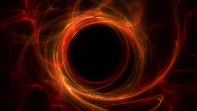 black hole - czarna dziura filmów i materiałów b-roll