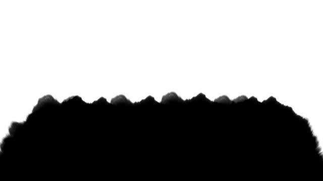 black ink on white paper - rozkładać filmów i materiałów b-roll