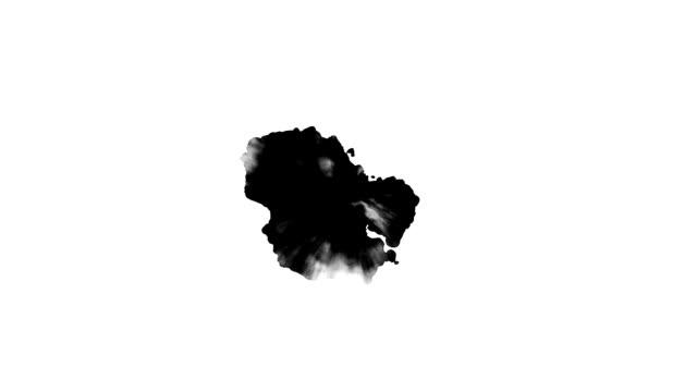 Black inks drops