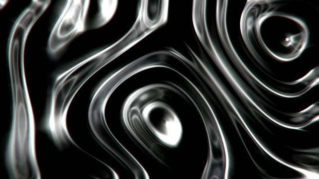 Black oil fluid abstract motion background seamless loop Rippled black liquid moving surface. Loopable. metallic stock videos & royalty-free footage
