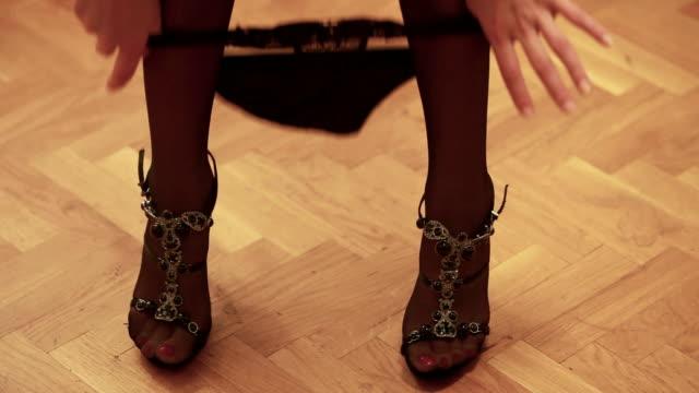 black panties - 20 24 år bildbanksvideor och videomaterial från bakom kulisserna