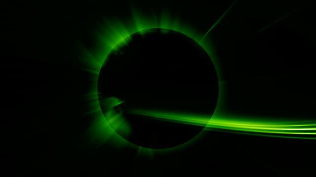 black planet and green ray - bordsjordglob bildbanksvideor och videomaterial från bakom kulisserna