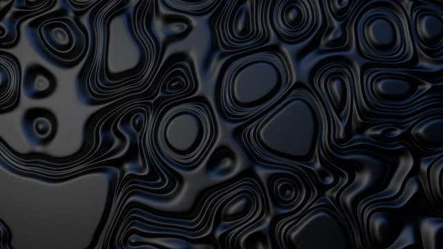 vídeos de stock e filmes b-roll de black plastic fluid - cromo metal