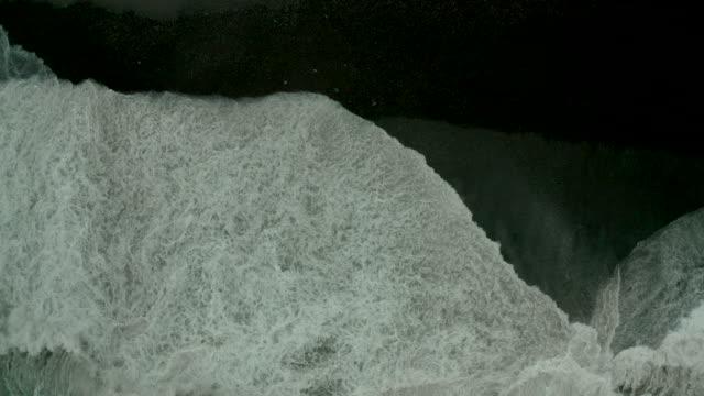 Black sea in a storm, aerial view mavic2 pro