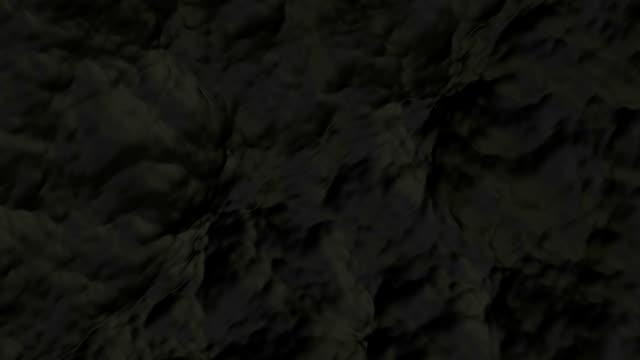 vidéos et rushes de noir doux et fluide. (loop fichiers - image composite numérique