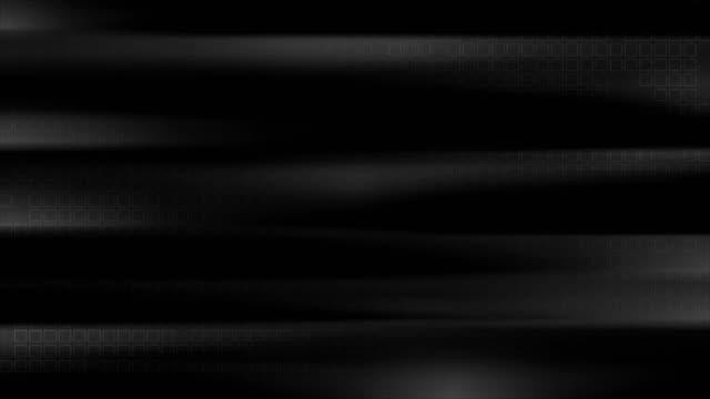 черные гладкие полосы с квадратной текстурой движения дизайн - в стиле минимализма стоковые видео и кадры b-roll